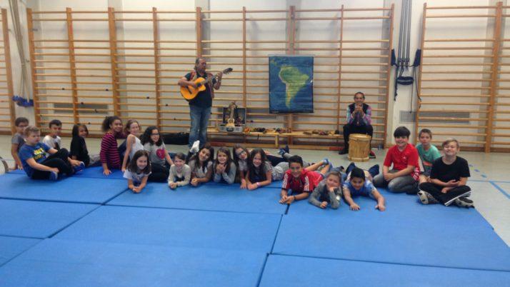 Fiesta Musical in der Volksschule Hans Sachs