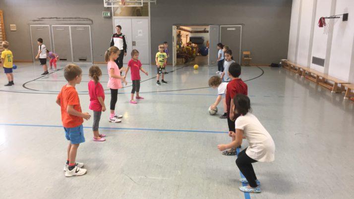 Handballtrainer zu Besuch