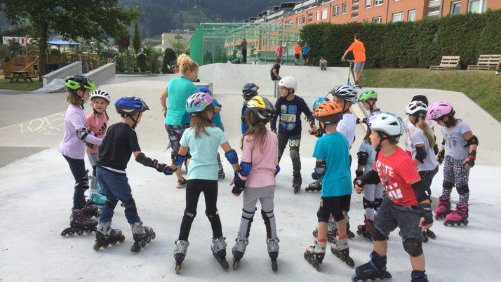 1a beim Inline Skaten