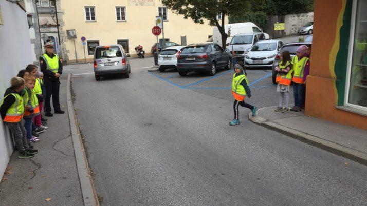Verkehrserziehung in den 1. und 2. Klassen