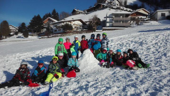 Rutschen im Schnee mit der 4d